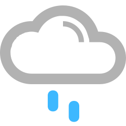 Rain showers in the morning becoming a steady light rain in the afternoon. High 19C. Winds ESE at 10 to 15 km/h. Chance of rain 70%.
